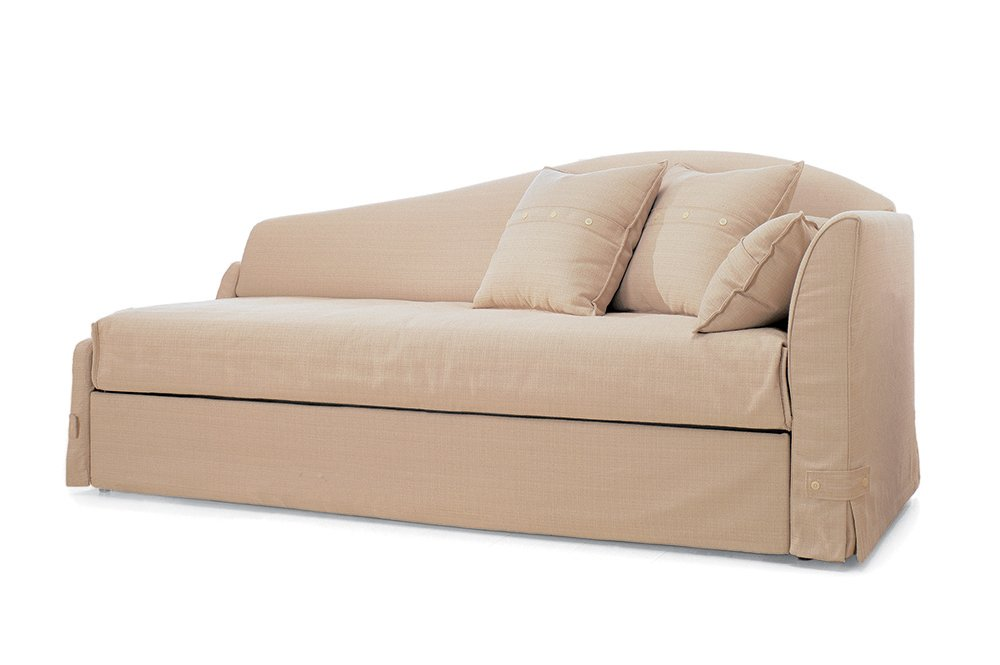M canismes gigogne duplo for Canape couchage permanent
