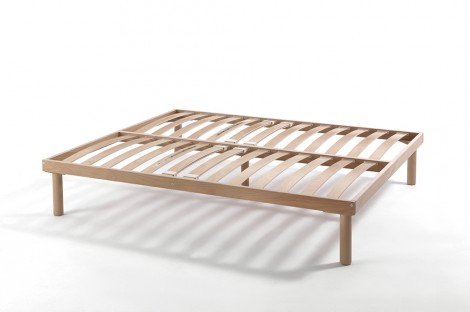 Fixed Wooden Bed Base