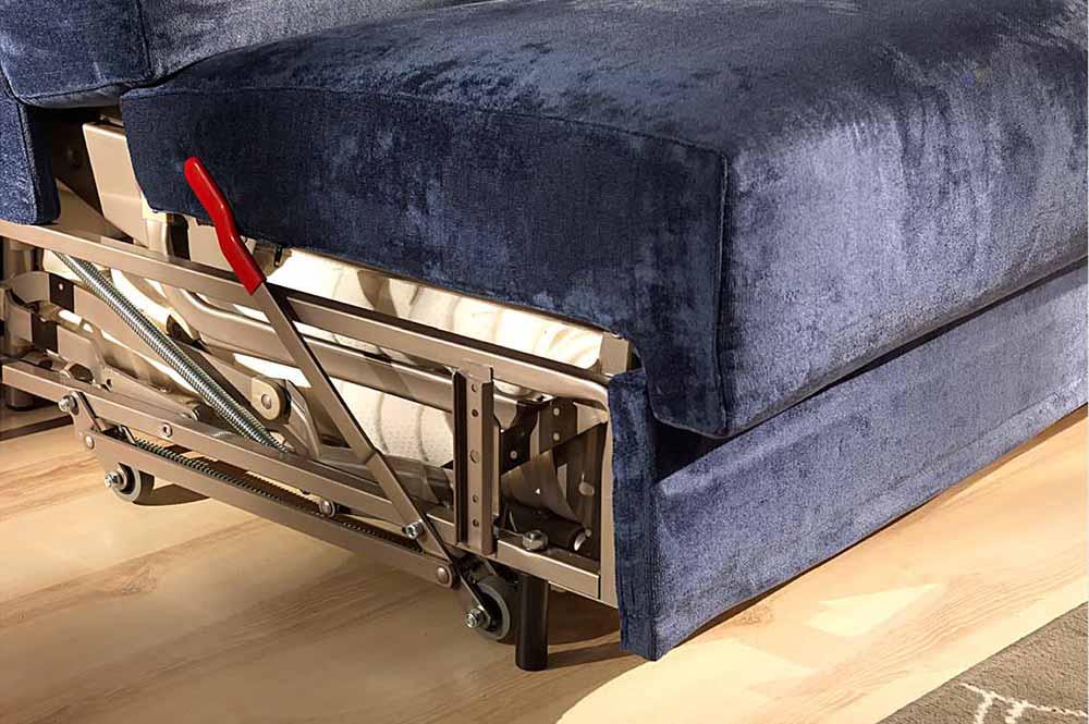 syst me de roues escamotables canap lit. Black Bedroom Furniture Sets. Home Design Ideas